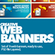 Creative Web Banners / Product Show - GraphicRiver Item for Sale
