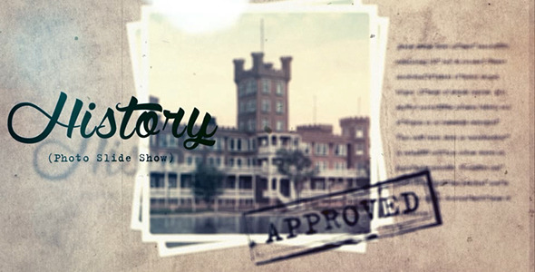 VideoHive History Slide Show 12177339