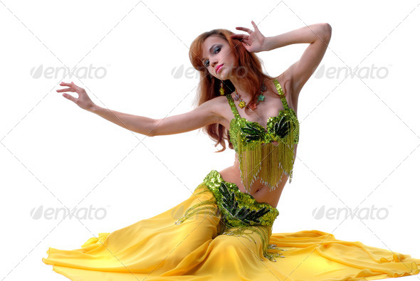 woman dancing - Stock Photo - Images