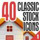 Bokbokstars Classic Stock Icons 1