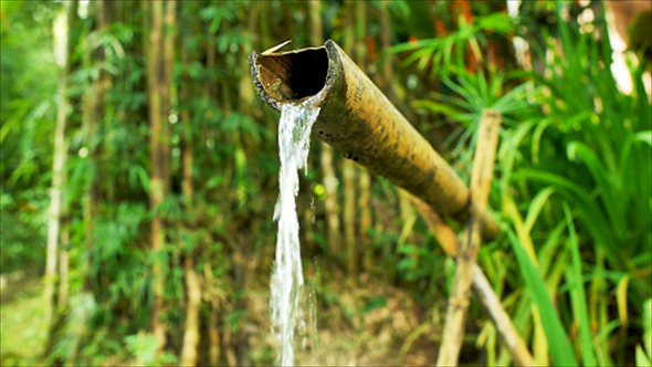 VideoHive Bamboo Water Feature 11 12177649