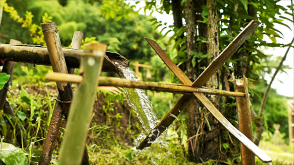 VideoHive Bamboo Water Feature 05 12177834