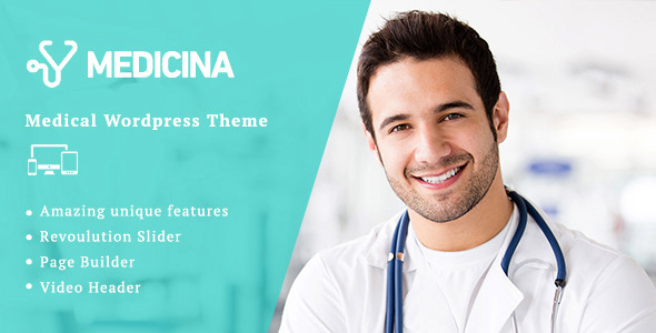Medicina | Medical WordPress Theme