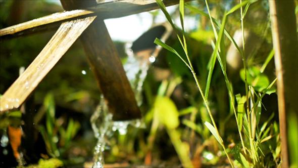 VideoHive Bamboo Water Mills 03 12177929