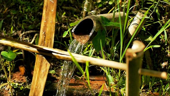VideoHive Bamboo Water Mills 01 12177980
