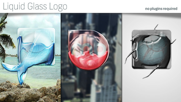 VideoHive Liquid Glass Logo 12181136