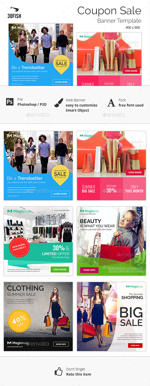 Enchanting Coupons Design Templates Festooning Simple