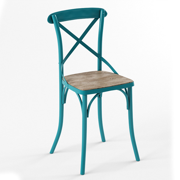 Home Loft Concept Stool - 3DOcean Item for Sale