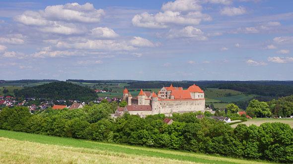 VideoHive Harburg Castle 12184380