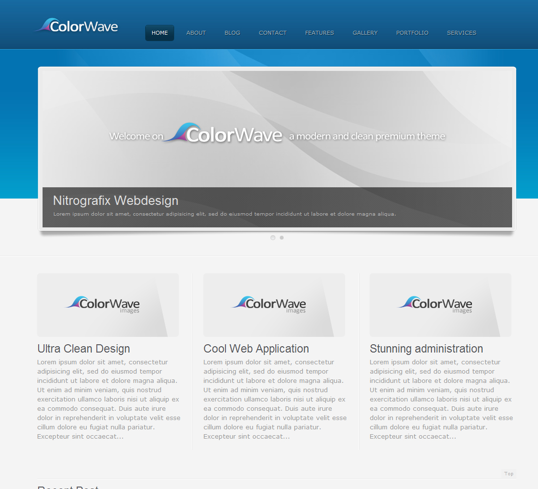 Colorwave – Premium Wordpress Theme