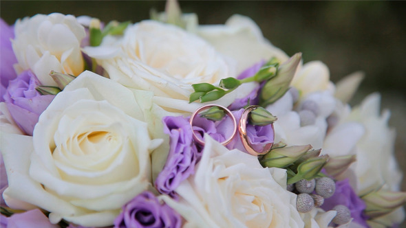 VideoHive Wedding Bouquet and Rings 12186064