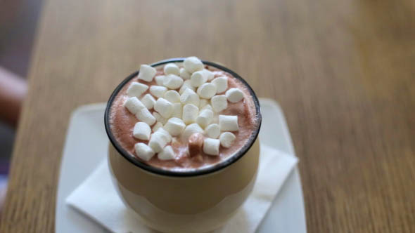 VideoHive Cocoa with Marshmallows 12186143