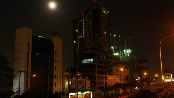 VideoHive Night Buildings 12186161