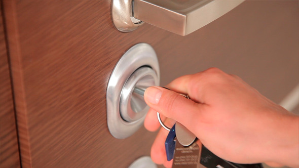 VideoHive Opening and Closing of the Door Lock 12186339
