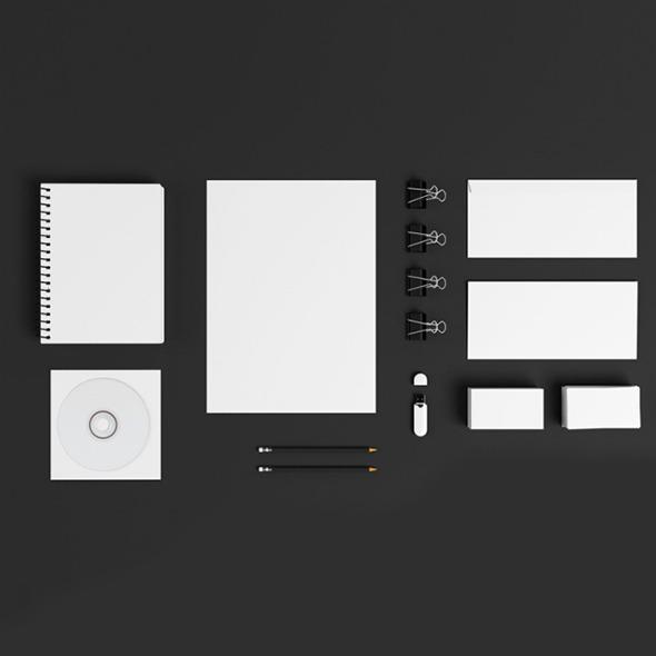Mockup Set - 3DOcean Item for Sale
