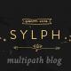 Sylph - A Multi-Path WordPress Blog Theme