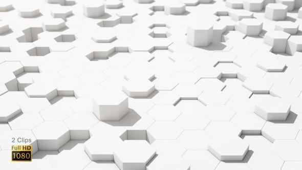 Clean Hexagon Background