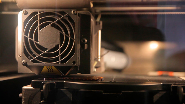 VideoHive 3D Printer 12187043