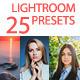25 Lightroom Presets