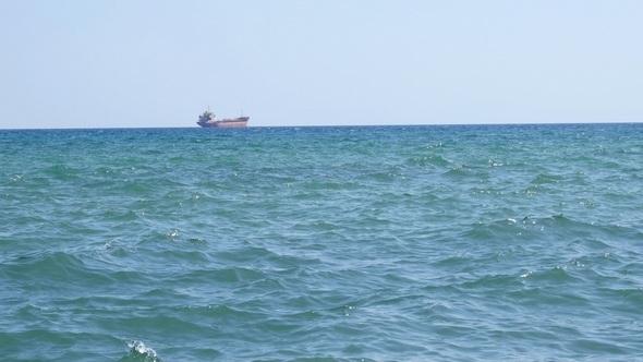 VideoHive Ship in the Sea 12187284