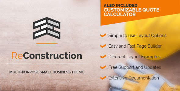 ReConstruction - Construction & Building Business