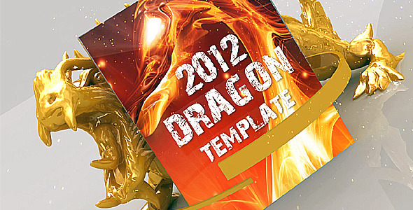 After Effects Project - VideoHive 2012 DRAGON PROJECT 1221451