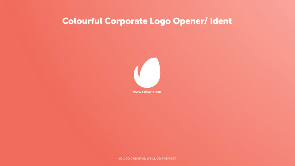 VideoHive Colourful Corporate Logo Opener Ident 12189273