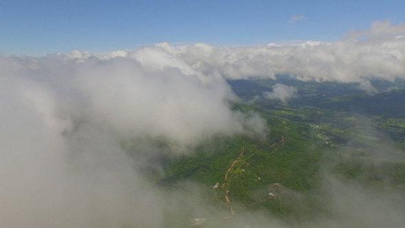 VideoHive Aerial View Above Clouds 12189433