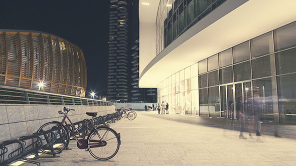 VideoHive Modern Passage in the City Center 12189444