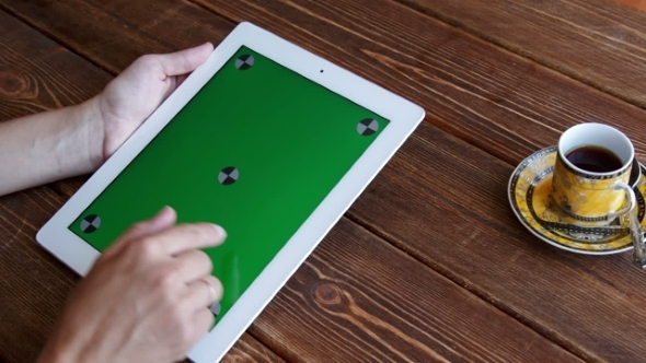 VideoHive Using Tablet Pc Touchscreen 12190131