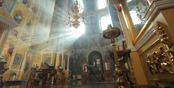 VideoHive Orthodox Church Interior 3 Pack 12190595