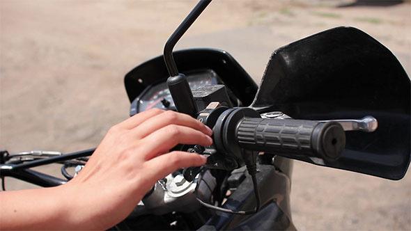 VideoHive Starting Motorbike 12192233
