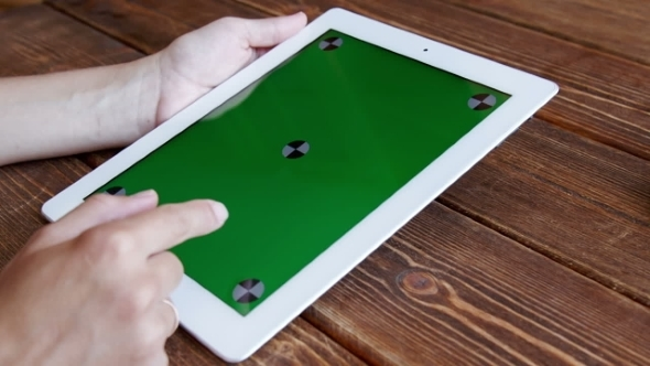 VideoHive Using Tablet Pc Touchscreen 12193485
