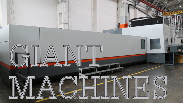 VideoHive Giant Machines 12199263