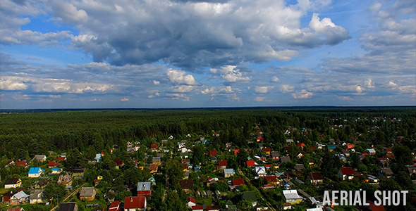 VideoHive Village In The Wood 12199548