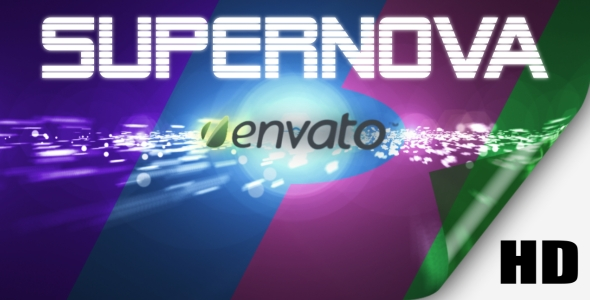 After Effects Project - VideoHive Supernova Logo Reveal 148652