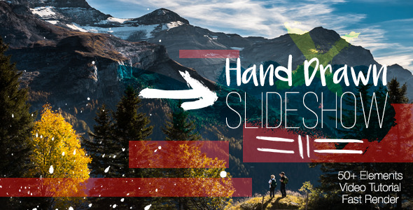 VideoHive Hand Drawn Slideshow 12204136