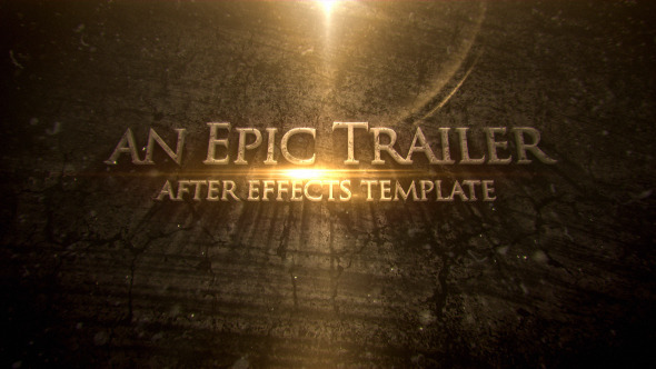 VideoHive Blockbuster Cinematic Trailer Titles 12206229