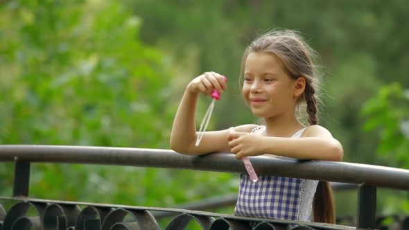 VideoHive Young Girl In A Park 12206662