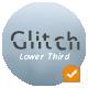 Simple Glitch Lower Third