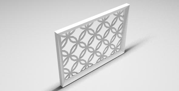 3DOcean Arabic Frame 12207561