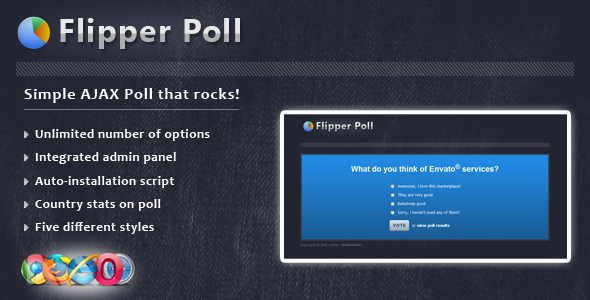 CodeCanyon Flipper Poll 148595