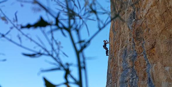 VideoHive Mountain Climbing 12209855