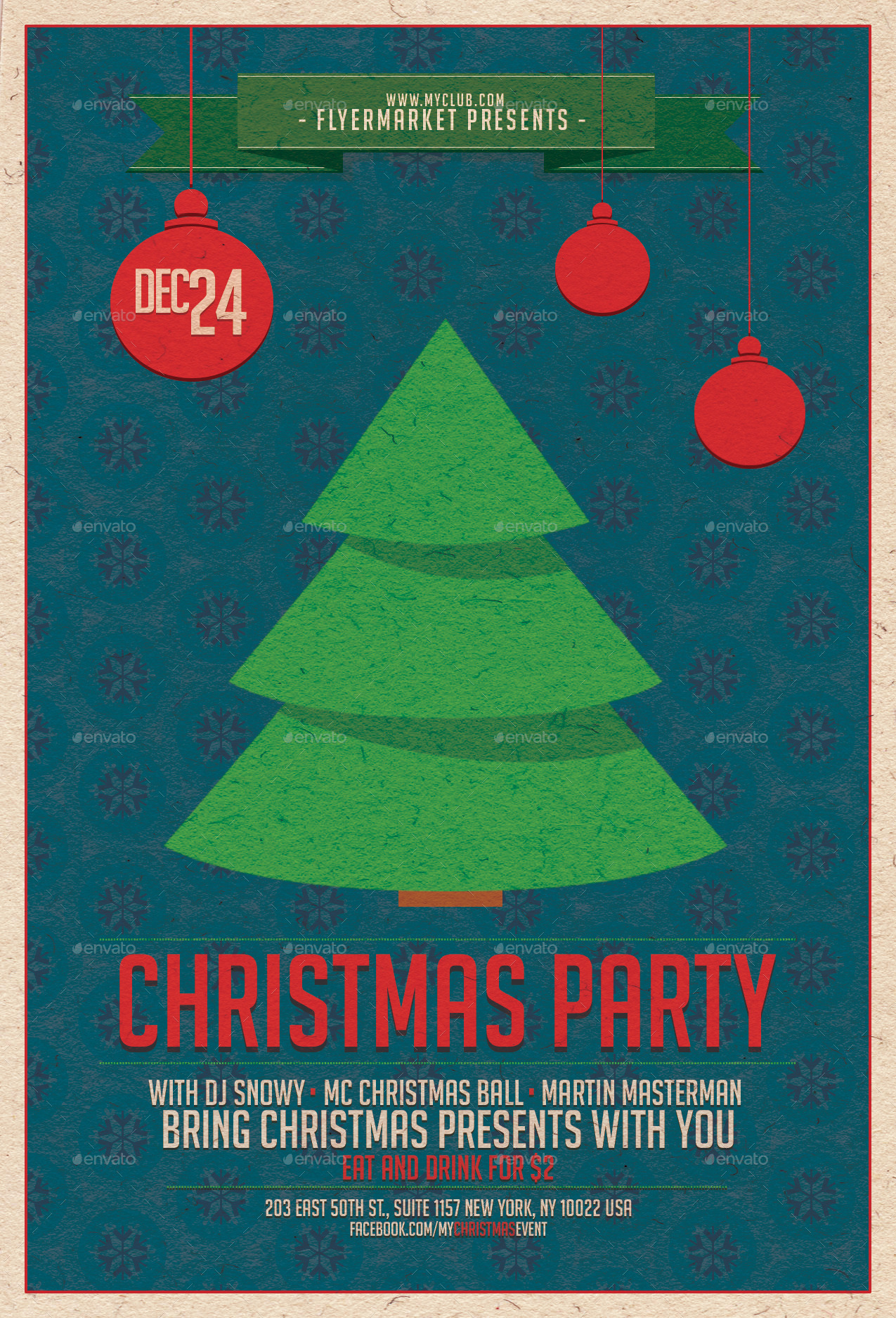 christmas party flyer template by flyermarket graphicriver christmas party v1 jpg