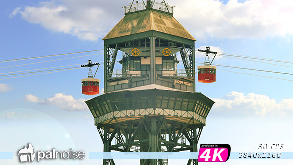 VideoHive Old Cableway 12210538