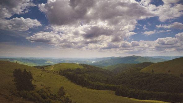 VideoHive Aerial Clouds in the Nature 12210844