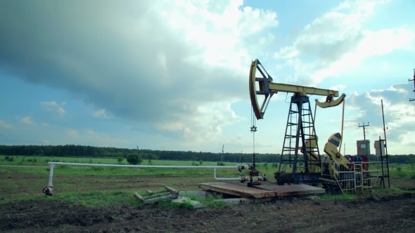 VideoHive Working Oil Pumps 12212316