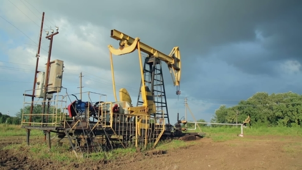 VideoHive Working Oil Pumps 12212323