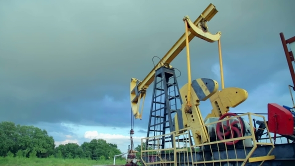 VideoHive Working Oil Pumps 12212324