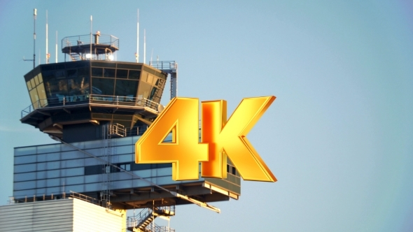 VideoHive Airport Traffic Control Tower 12212474